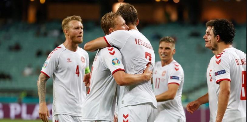 丹麦击败了捷克共和国以进入四强决赛