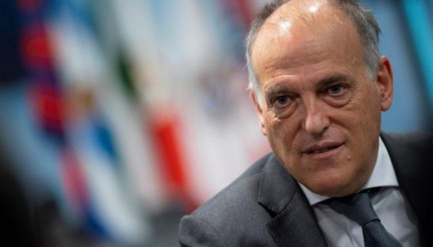 皇马对西甲主席哈维尔·特巴斯提起诉讼