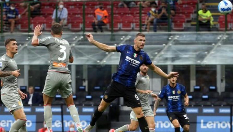 国际米兰击败热那亚板球与足球俱乐部以开启他们的意甲卫冕之路
