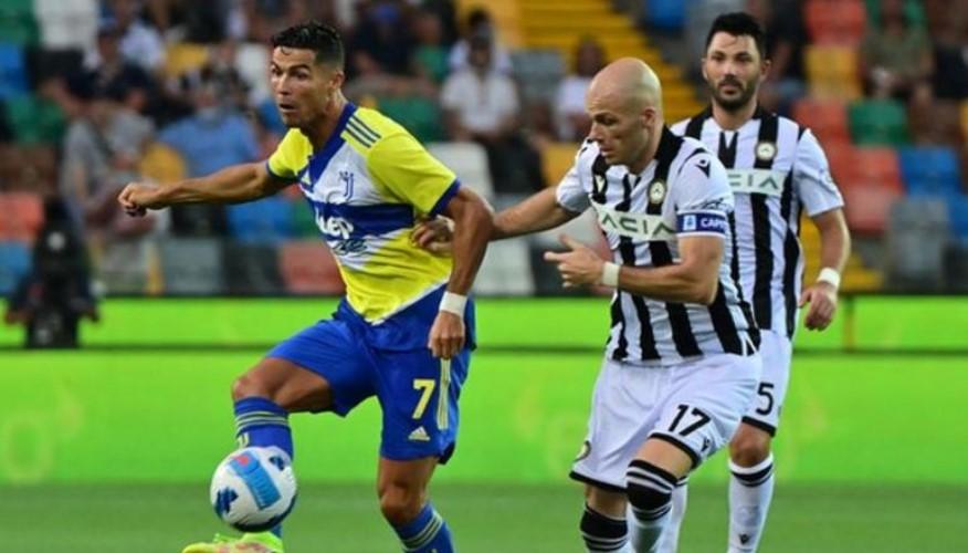 罗纳尔多以替补出场意甲的首战