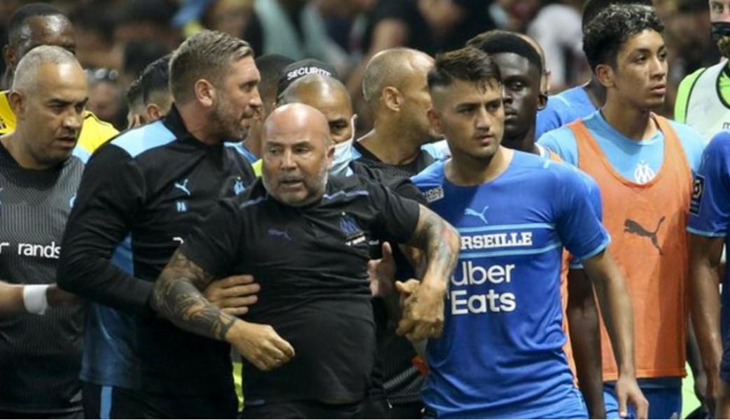 尼斯与马赛的球迷冲突事故