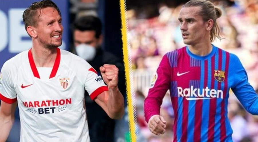 巴塞罗那签下塞维利亚的卢克·德容,安托万·格里兹曼重新加入马德里竞技