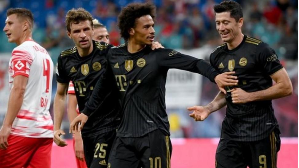 拜仁慕尼黑在击败莱比锡后上升到德甲联赛的第二名