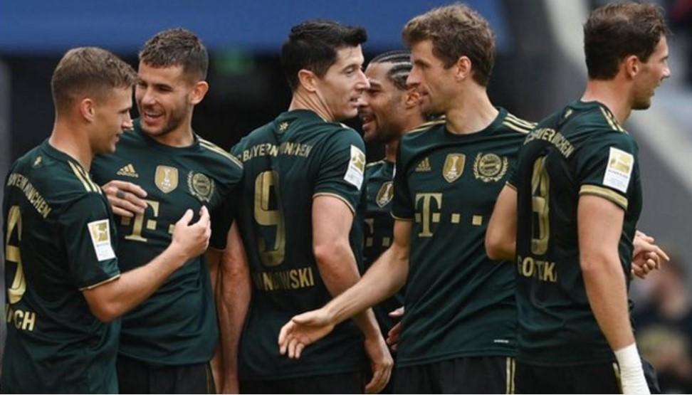 拜仁慕尼黑以7个进球完美击败波鸿足球俱乐部