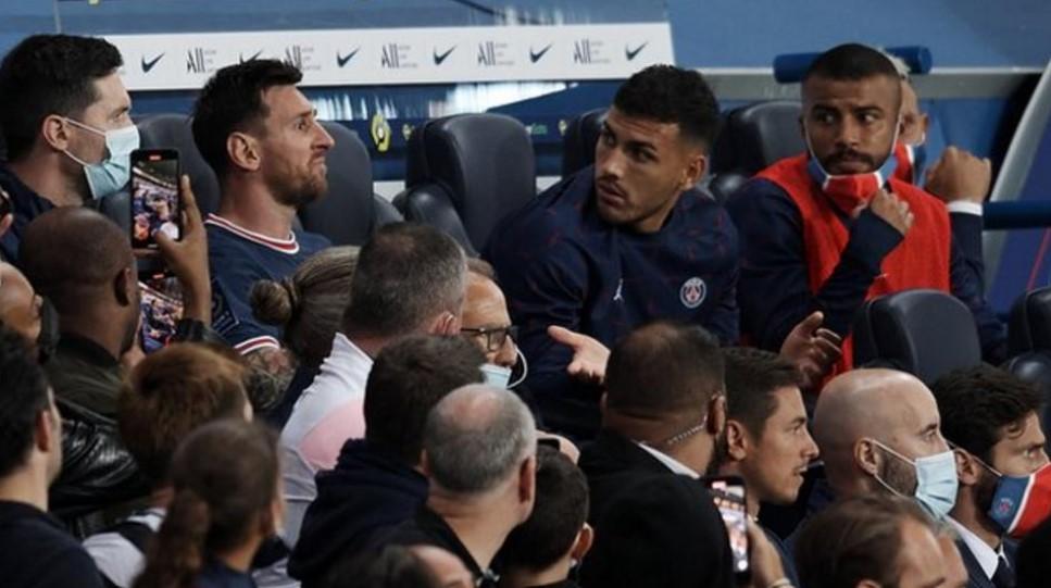 梅西在首个主场比赛中被替换下