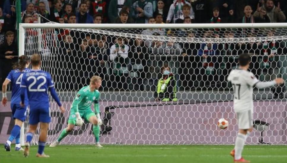 莱斯特城在欧联杯小组赛中仍未取得胜利