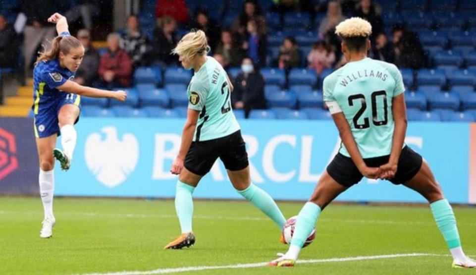 切尔西女子队击败了布莱顿延续了本赛季的良好开局