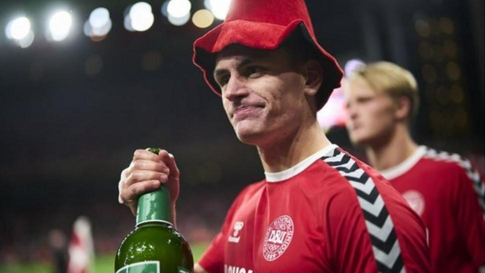 丹麦队伍保持了世界杯预选赛100%的胜率并且获得世界杯参赛资格