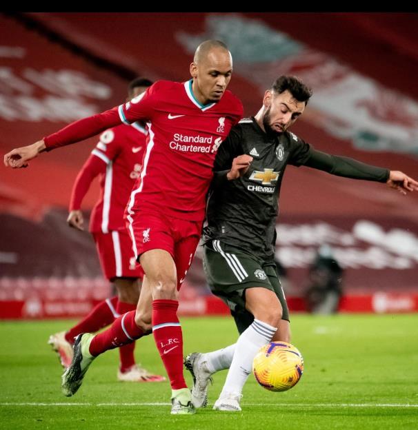 """曼联超级明星布鲁诺•费尔南德斯(Bruno Fernandes)为利物浦辩护,并声称对手在无胜败后并不""""打得不好"""""""