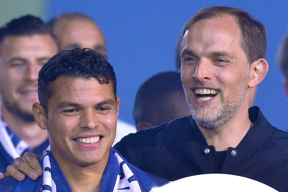 """席尔瓦•瑟弗(Thiago Silva)要求前PSG经理解雇""""可预测的""""后,蒂亚戈•席尔瓦(Thiago Silva)参加了切尔西的尴尬聚会"""
