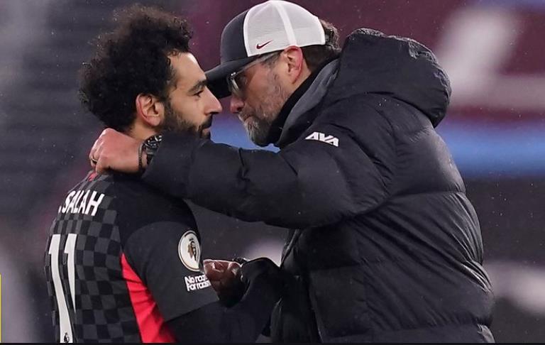 萨拉赫的进球帮助利物浦升至第三