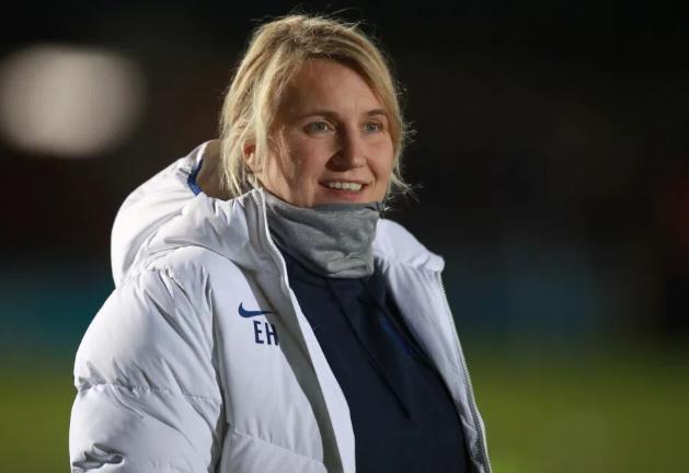 切尔西女足老板艾玛•海斯入围,成为英格兰足球联赛首届亚足联温布尔登经理