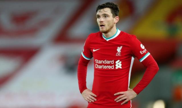 """利物浦球星安迪•罗伯森承认""""我们不在冠军争夺战中"""",因为保住皇马的头衔使布莱顿惨败"""