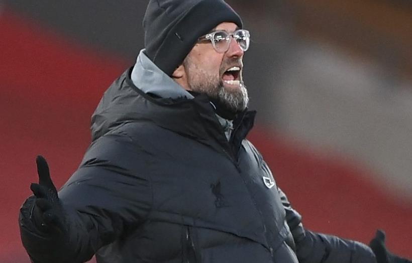 利物浦处于危险边缘