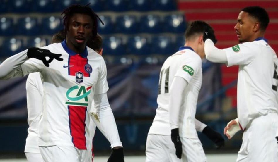 卡昂 0-1 巴黎圣日尔曼