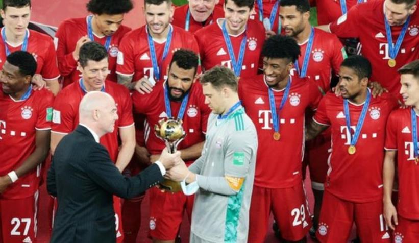 拜仁慕尼黑赢得了足联俱乐部世界杯决赛冠军!!
