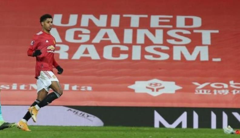 """曼联前锋说,在线种族歧视的行为应""""轻松制止"""""""