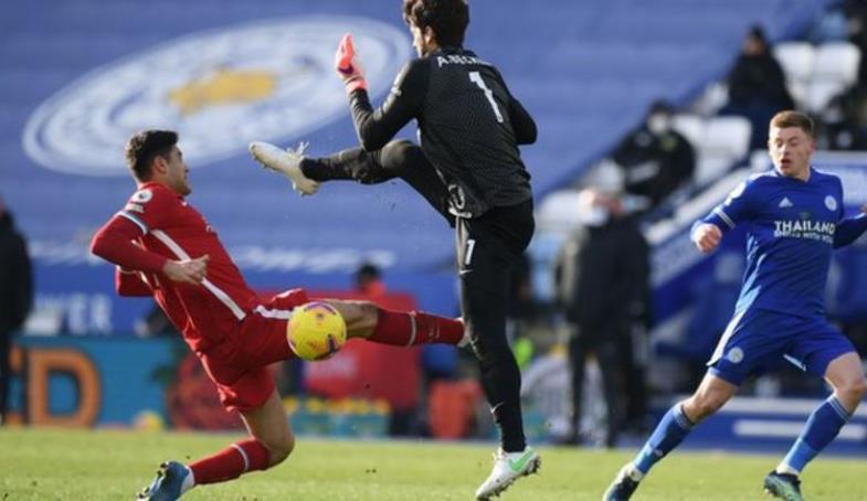 利物浦的前四排名面临着危险