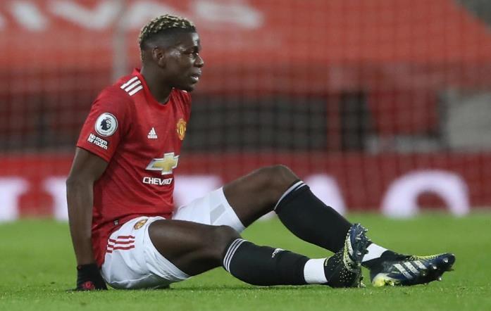 由于大腿受伤,曼彻斯特联队的保罗•波格巴将缺席两周。