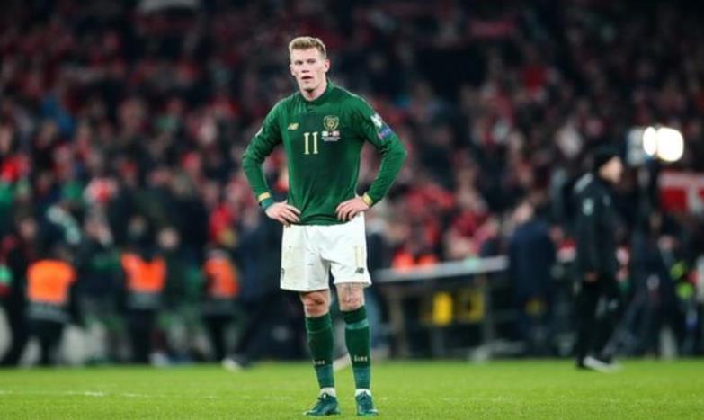 爱尔兰足协会为詹姆斯.麦克林提供支持