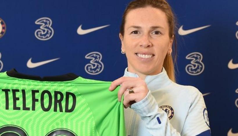 切尔西女足队和英格兰守门员续约