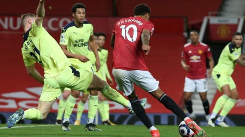 拉什福德助曼联重返英超联赛第二名