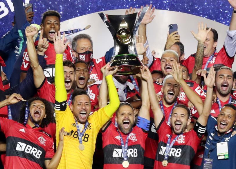 弗拉门戈队连续第二次夺得巴西甲级联赛冠军