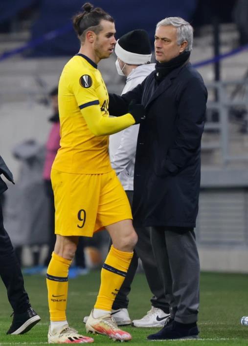穆里尼奥认为加雷斯•贝尔自从回到热刺以来就处于最佳状态