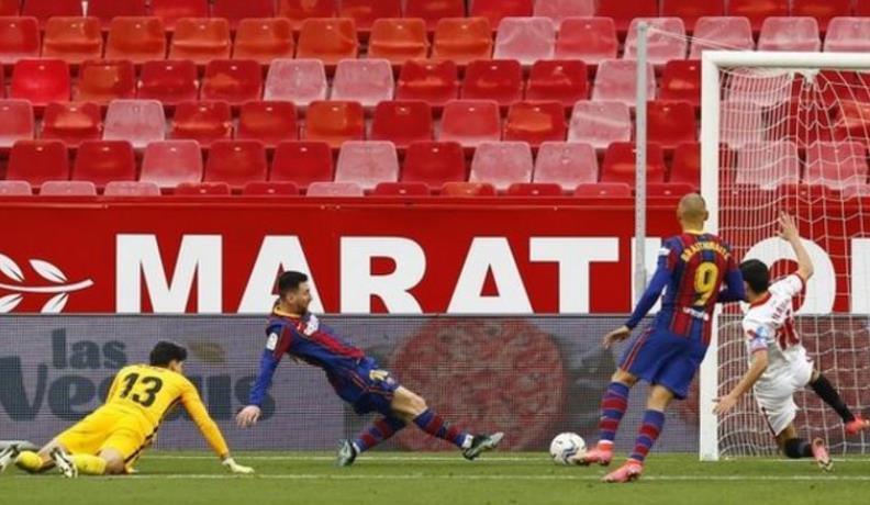 梅西连续在八场比赛中进球