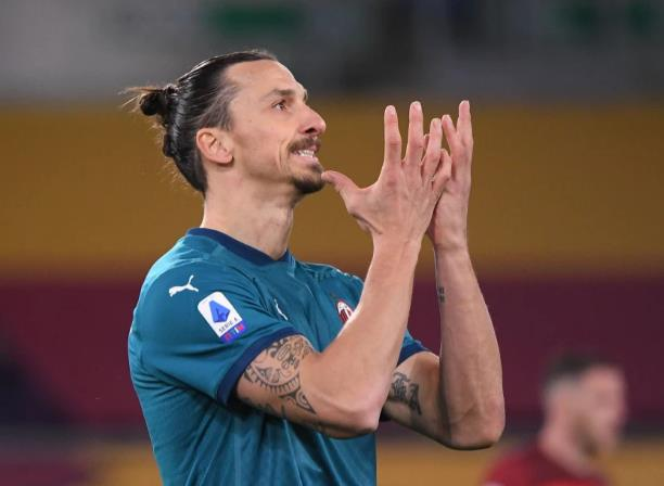 兹拉坦将因腹股沟受伤而错过AC米兰对阵曼联的欧洲联赛两场比赛