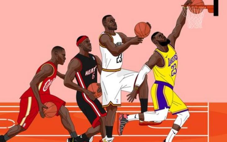 NBA超级巨星詹姆斯