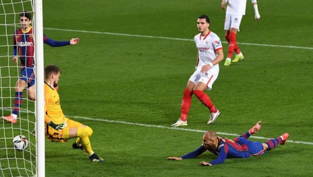巴萨以3-0战绩在西班牙国王杯第二回合中反击