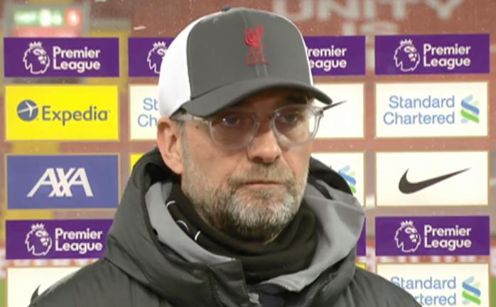 """尤尔根•克洛普坚称切尔西击败利物浦是对他们晋级四强的""""巨大打击"""""""
