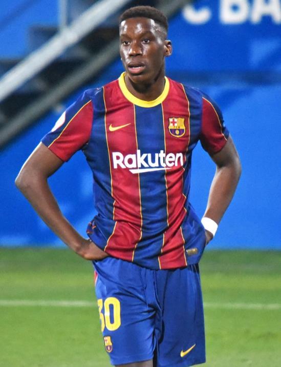 据报道,曼联队已经开始竞购巴塞罗那神童伊莱克斯•莫里巴