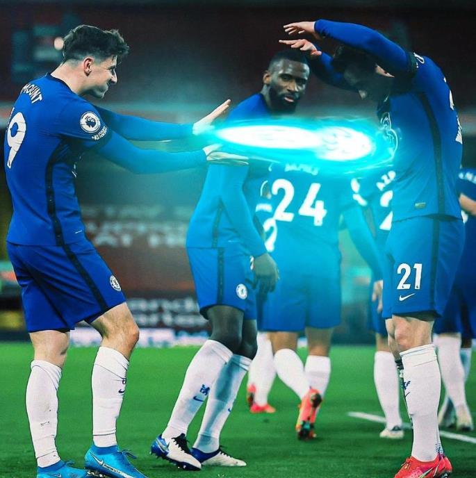 梅森•芒特透露,他的进球庆祝是在嘲笑队友库尔特•祖玛