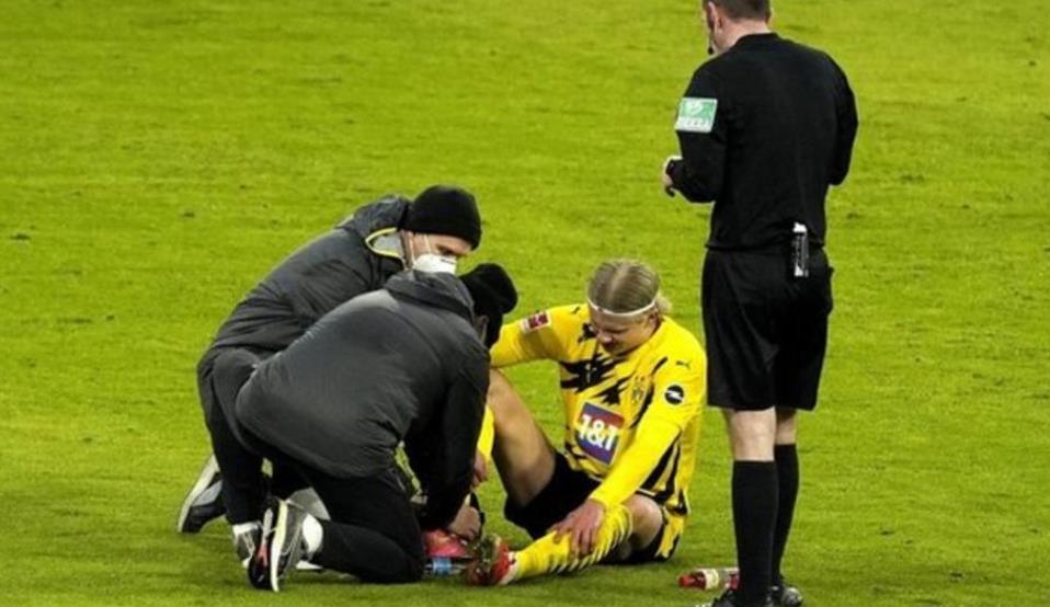 多特蒙多希望哈兰德能在与塞维利亚的比赛中返场