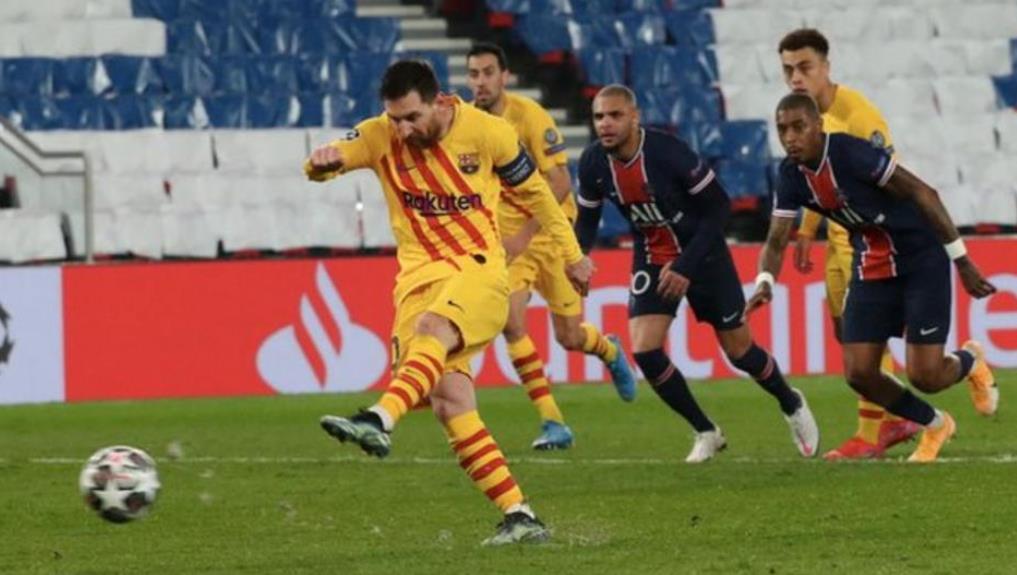 巴塞罗那十四年以来未能进入欧洲冠军联赛的八强决赛