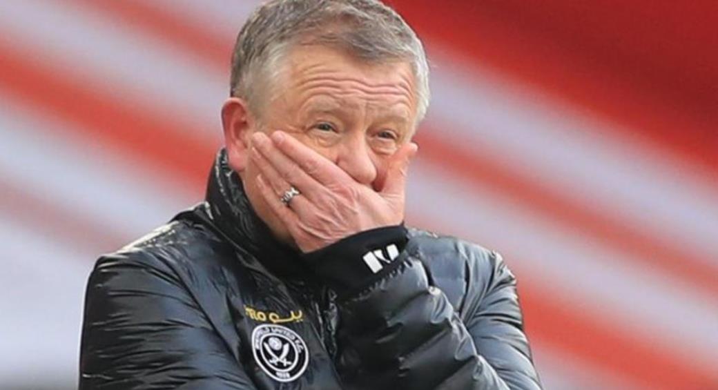 谢菲尔德联队确认经理克里斯·维尔德的离职