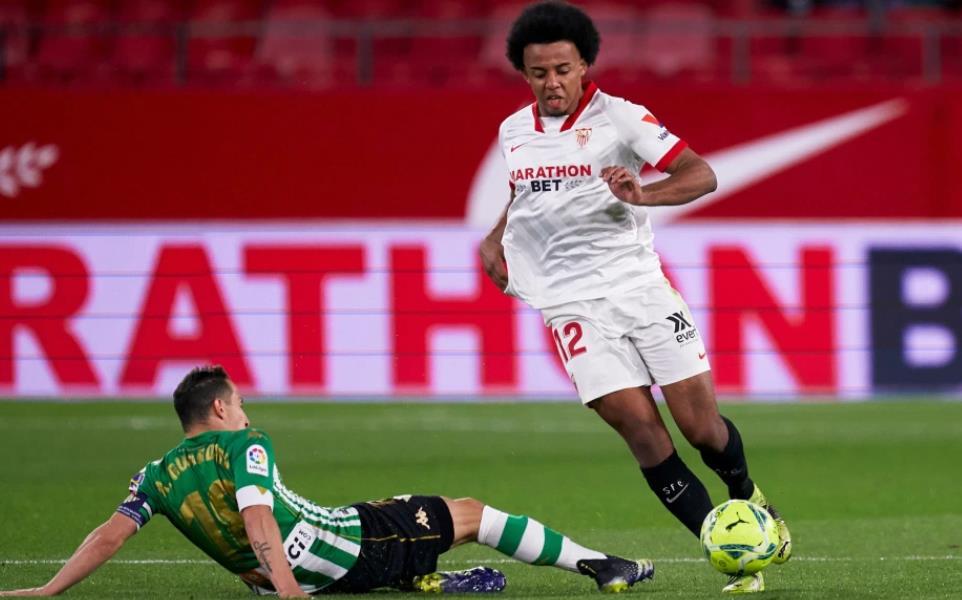 曼彻斯特联队在争夺朱尔•孔德的比赛中得到了提振–塞维利亚将要价降低到约5000万英镑。