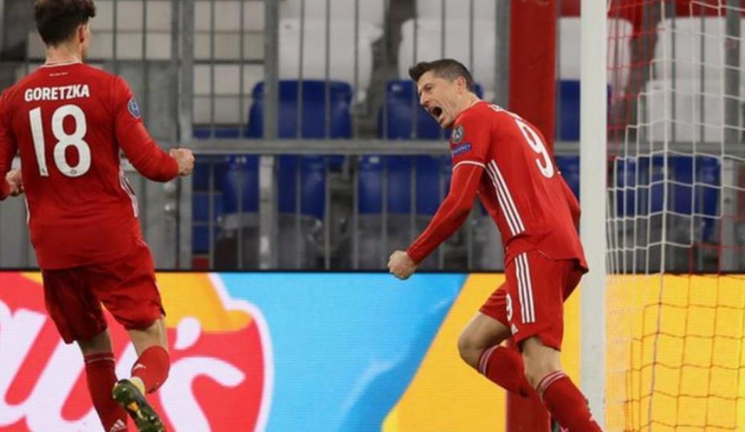 拜仁慕尼黑轻松晋级八强决赛