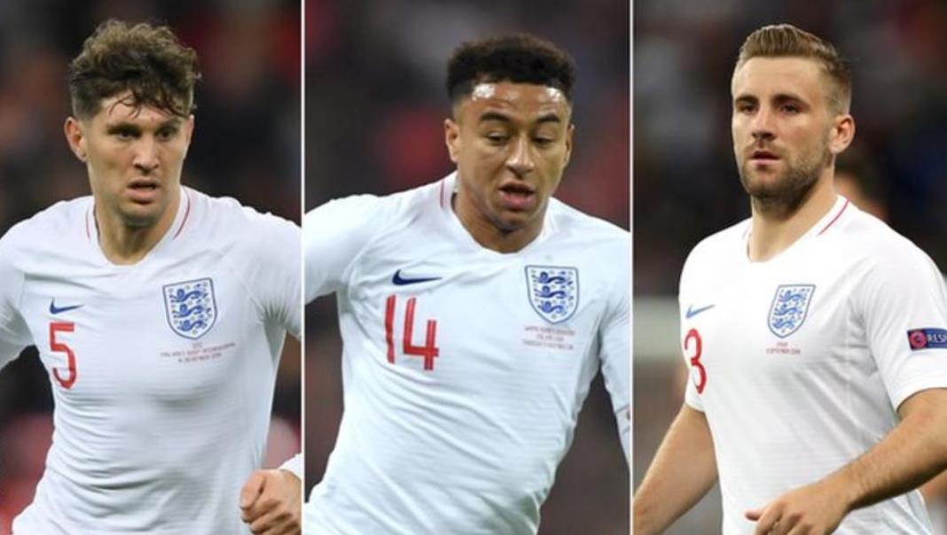 杰西·林加德,卢克·肖和约翰·斯通将返回英格兰队