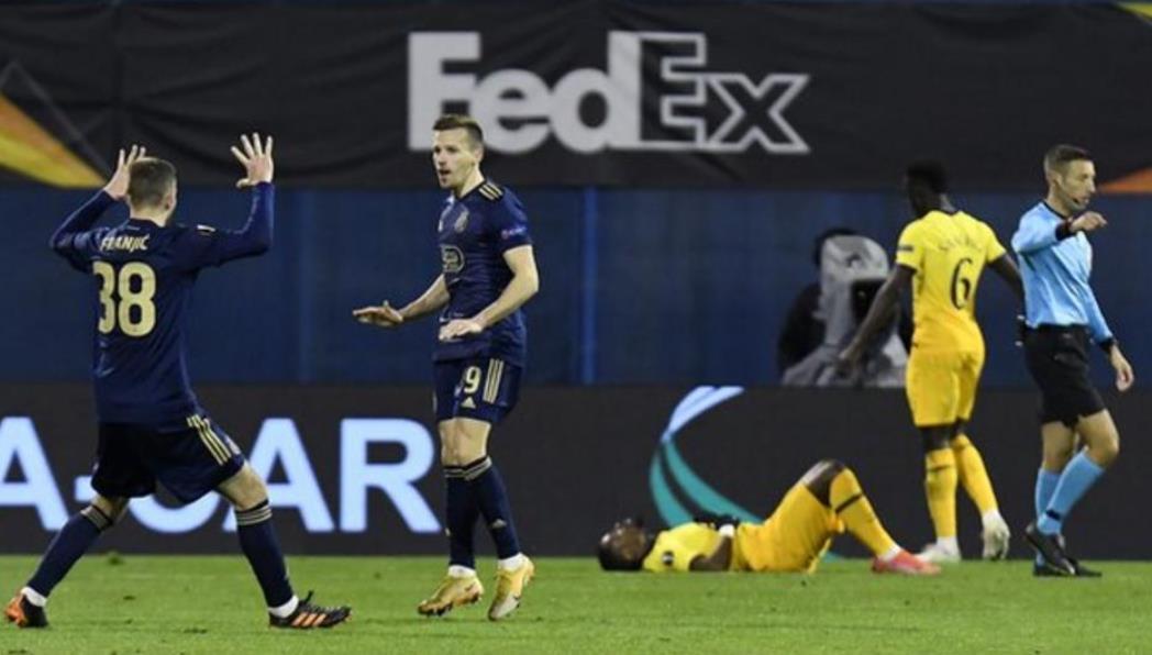 热刺在欧足联欧洲联赛的第二回合中表现极差遗憾出局