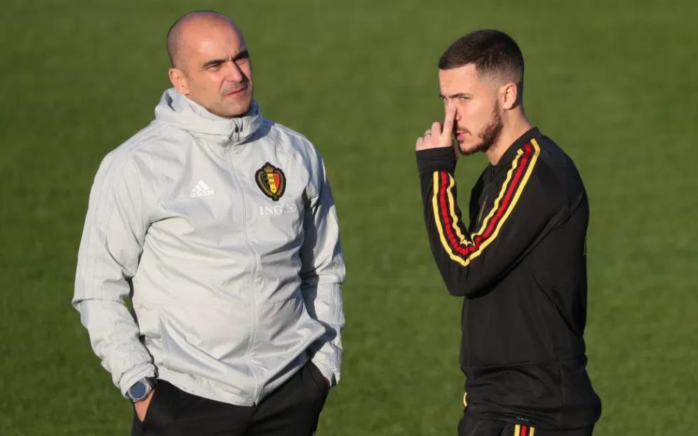 罗伯托•马丁内斯承认,他不知道埃登•阿扎尔是否适合参加今年夏天比利时的2020年欧锦赛。