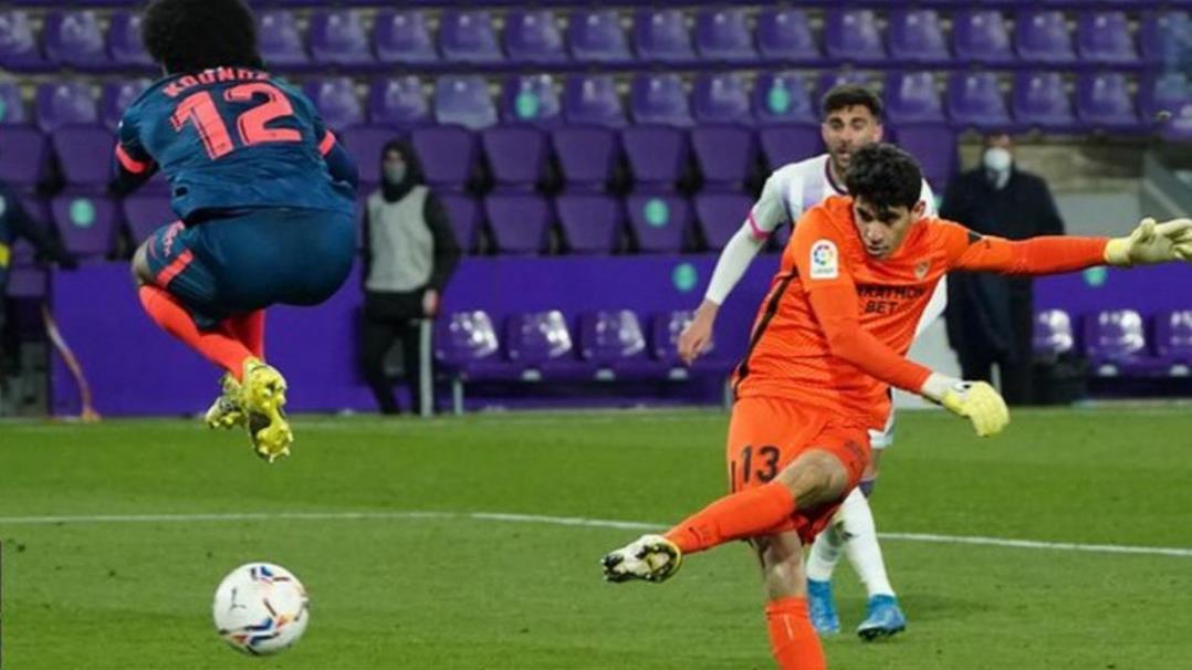 亚辛·布努的关键一个进球拯救了塞维利亚