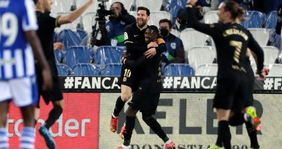 巴塞罗那以6-1击败皇家社会队