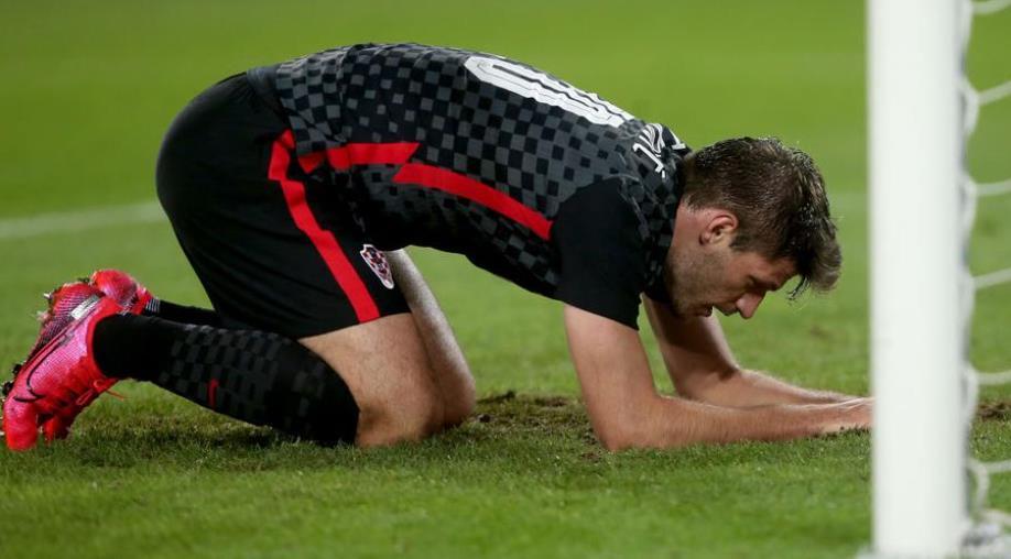佩特科维奇因受伤而被排除出克罗地亚预选赛
