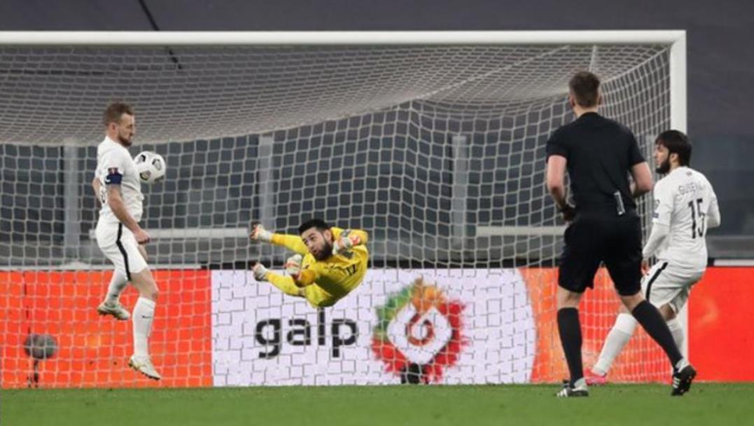葡萄牙队伍击败了倔强的阿塞拜疆队伍