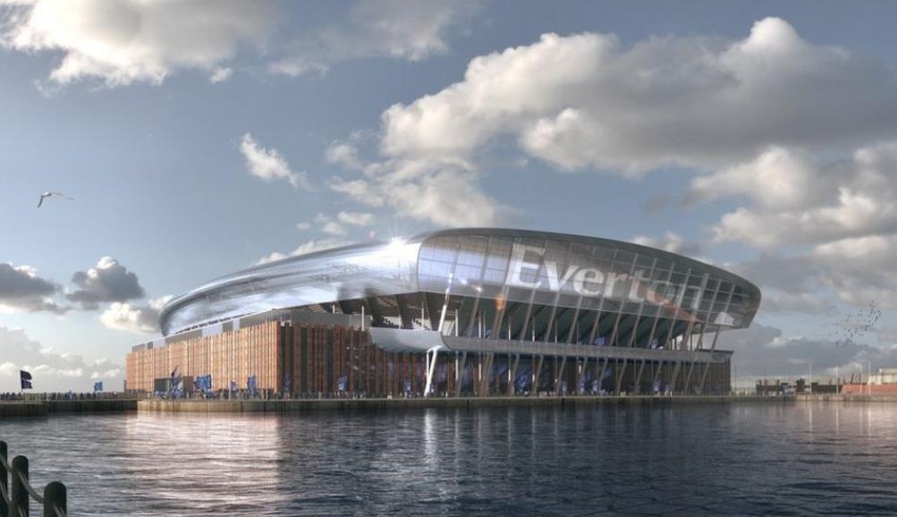 埃弗顿的新体育场计划获得了政府批准