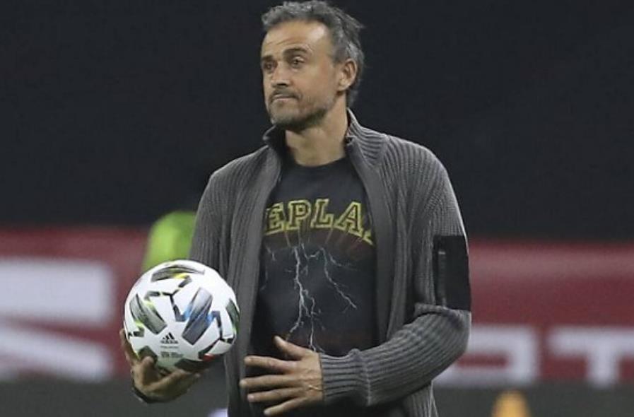 西班牙教练路易斯•恩里克:我为球队的态度感到骄傲
