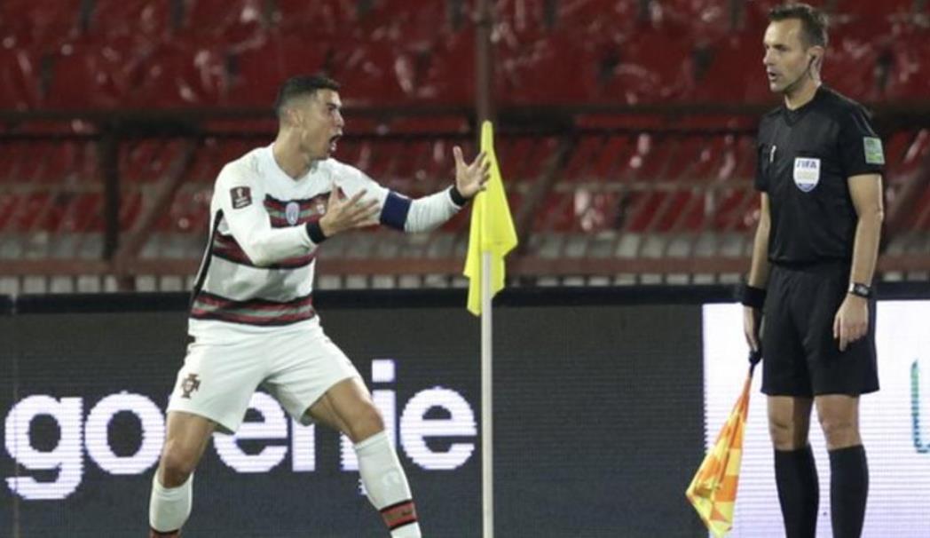 罗纳尔多的关键球被判无效导致葡萄牙与塞尔维亚的平局